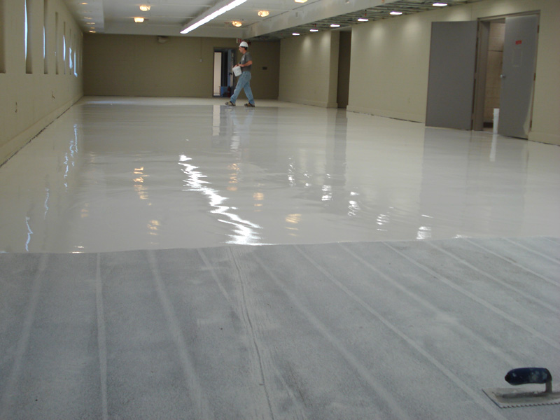 Self Leveling Roof Coating : Self leveling slurry epoxy mma flooring resinous