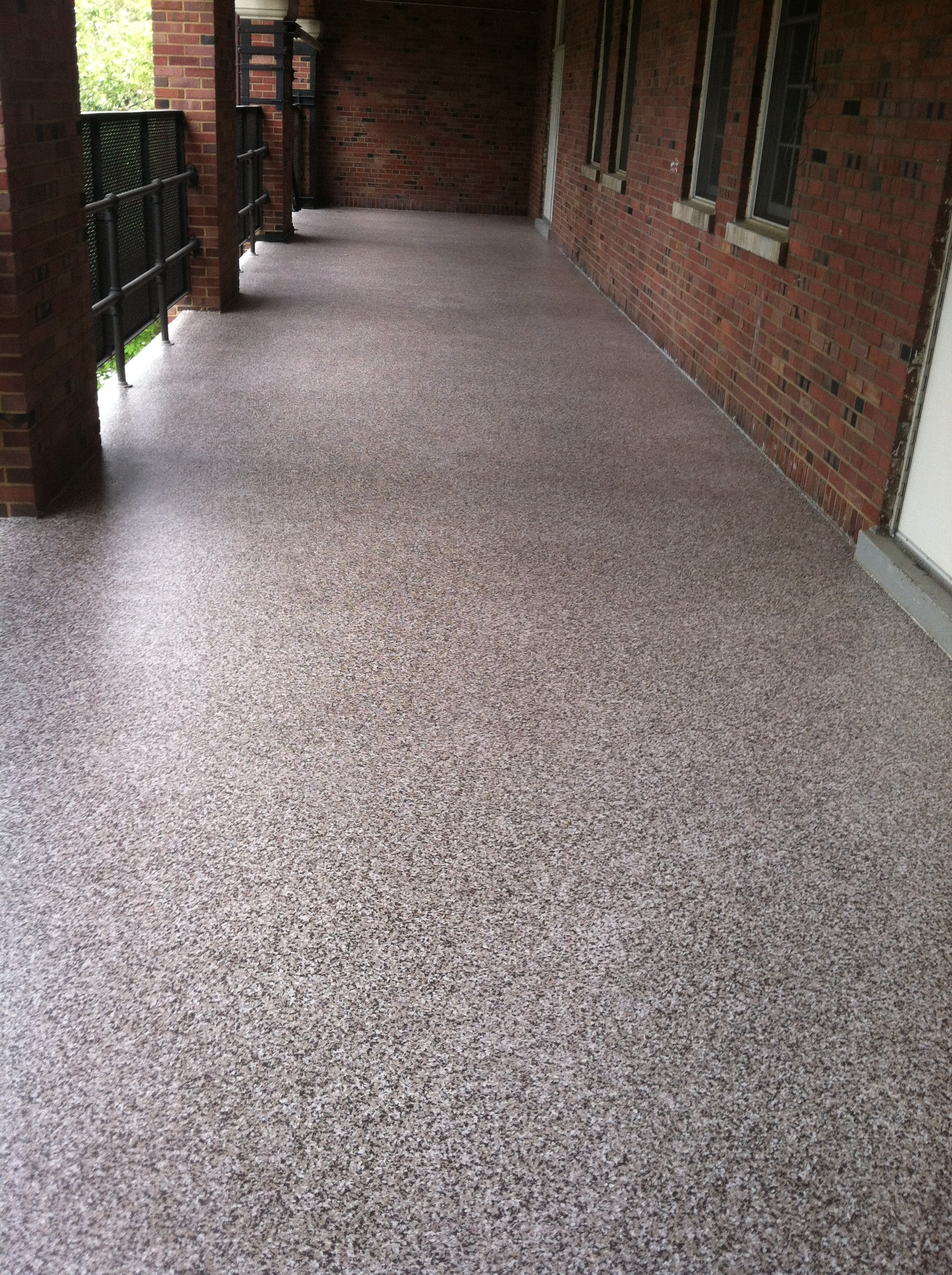 Epoxy Flooring Gallery >> Decorative Exterior Solution (MMA) - DUREX - Seamless ...