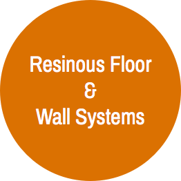 Oval 1 + Resinous Floor