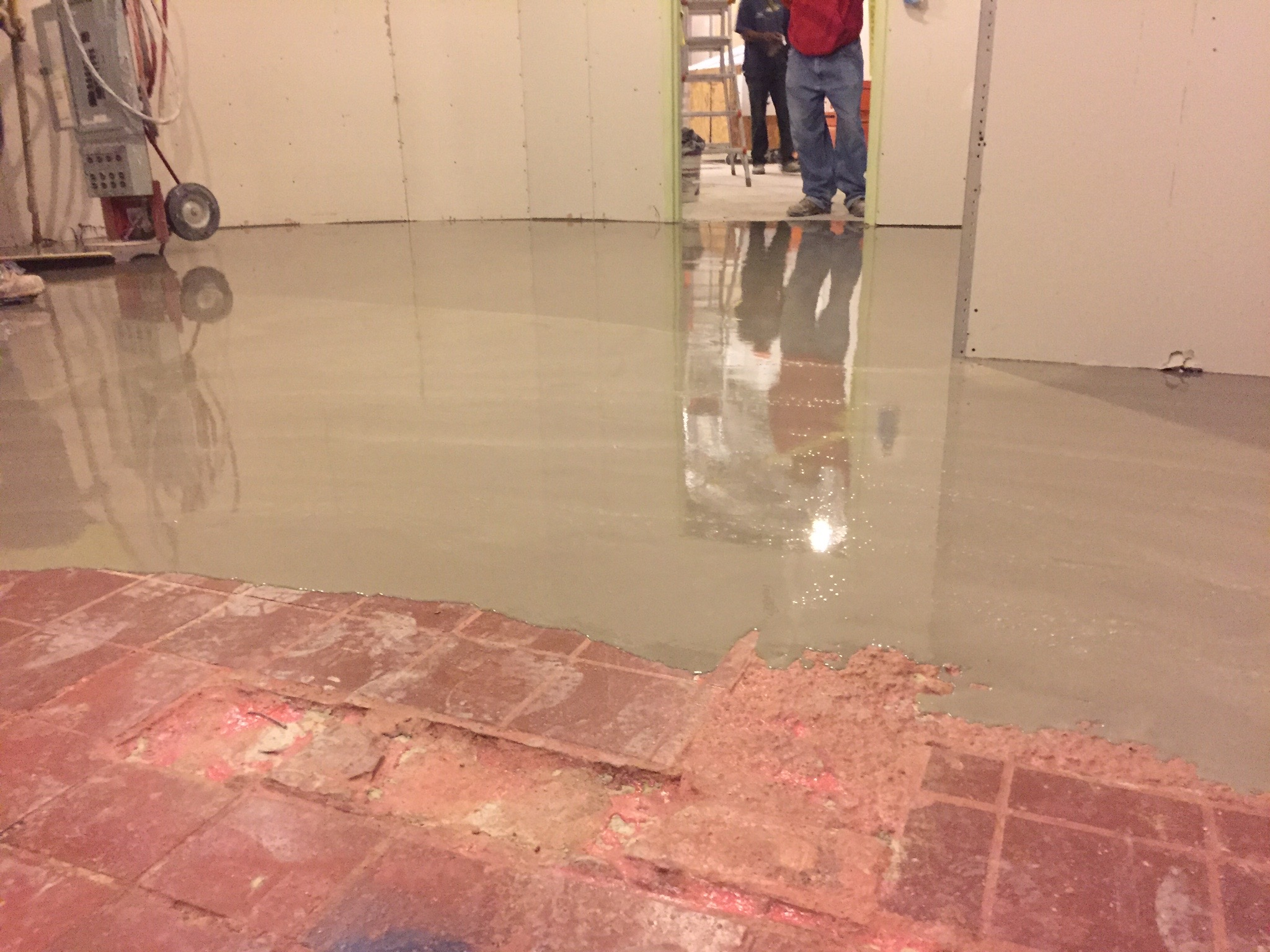 Substrate Repair Self Leveling Underlayment DUREX Seamless - Cost of self leveling concrete floor